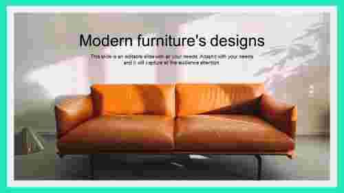 Modernfurniturepowerpointtemplates-interiordecoration