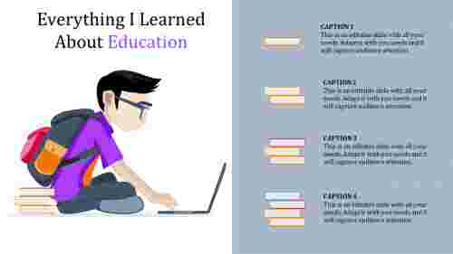 Learning best powerpoint templates for education