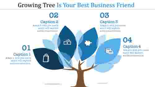 growing tree powerpoint template development
