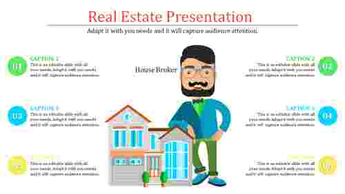 real estate powerpoint presentation template - Building