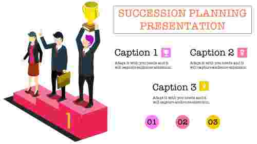 succession planning presentation with diagrams