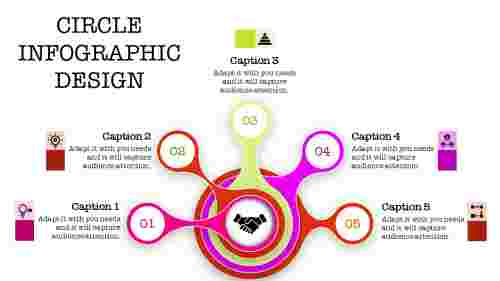 Incredible circle infographic powerpoint