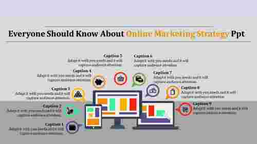 %20online%20marketing%20strategy%20powerpoint%20with%20infographic
