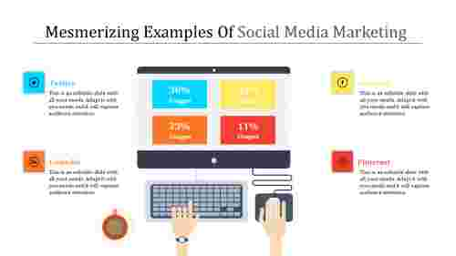 social media marketing powerpoint-Mesmerizing Examples Of Social Media Marketing