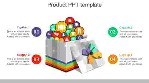GiftmodelproductPPTtemplate