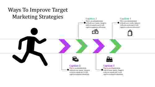 target marketing strategies with arrows