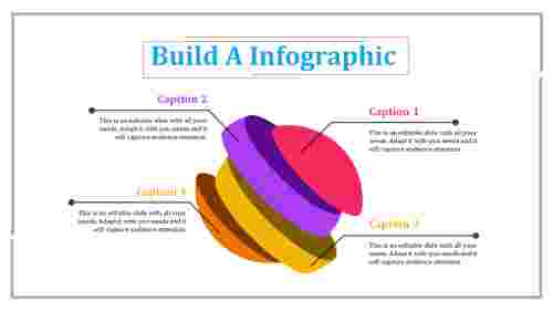 infographic presentation template - segmented sphere model