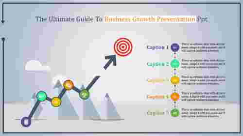 Goal business growth presentation PPT
