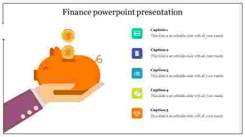 Savings finance powerpoint presentation