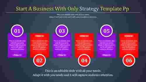 strategytemplatepowerpoint-rectangle