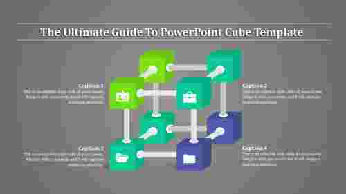 powerpointcubetemplate-connected
