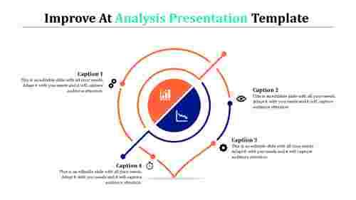 analysis presentation template - inverted tear drop