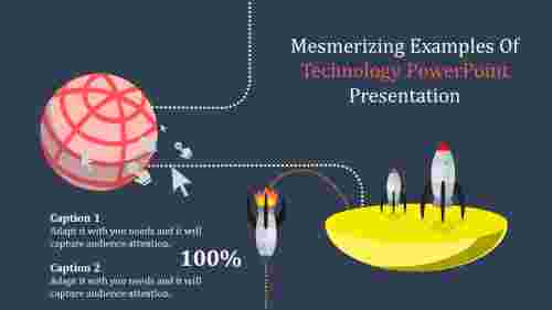 technology powerpoint presentation of space