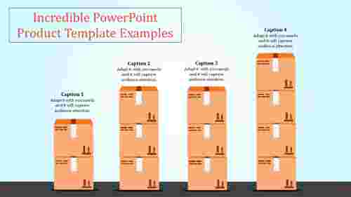 powerpoint product template - logistics industry