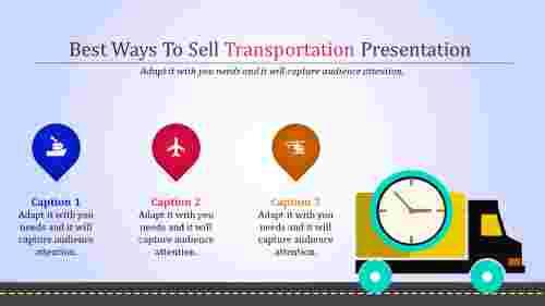 Transportationpowerpointtemplateswithroaddesign