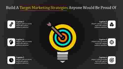 Six stages target marketing strategies