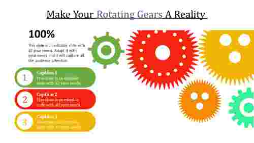 rotating gears in powerpoint for business
