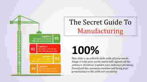 Alternative manufacturing powerpoint template