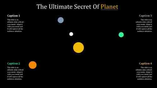 planetpowerpointtemplatewithdarkbackground