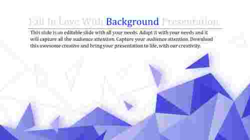 triangle powerpoint slide background