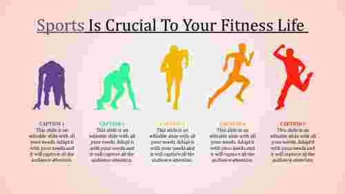 sports ppt template-Sports Is Crucial To Your Fitness Life