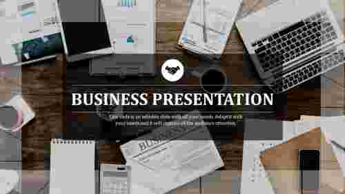 A one noded business presentation templates