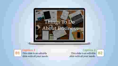 A two noded business powerpoint presentation