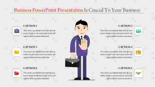 business powerpoint presentation - executive advice
