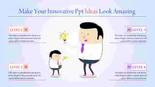 innovative powerpoint ideas - two men standing