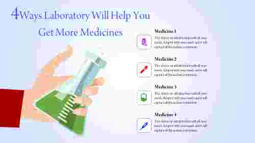 laboratory powerpoint templates - green