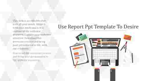 Systematic-ReportPPTTemplate