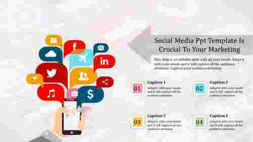 social media ppt template-Social Media Ppt Template Is Crucial To Your Marketing