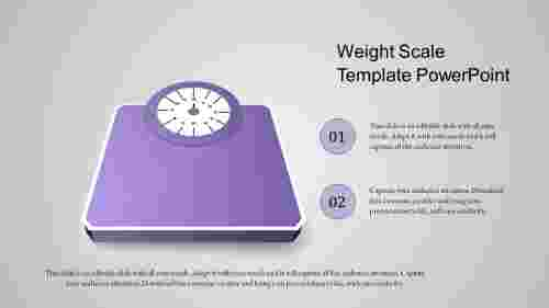 scale template powerpoint-weight scale template powerpoint-purple-style 2