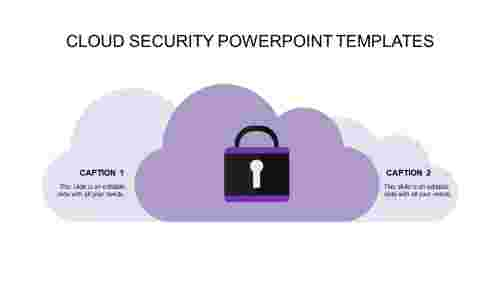 security powerpoint templates-cloud security powerpoint templates-purple