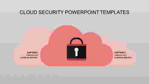 Security powerpoint templates-Cloud Design