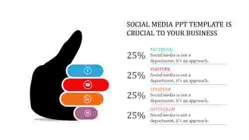 SocialMediaPPTTemplate-HandDiagram