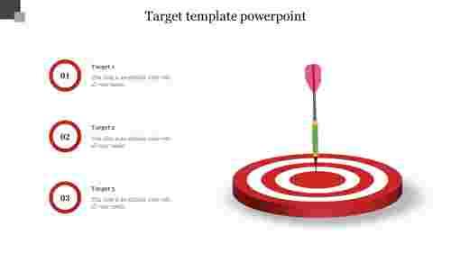 BusinessTargettemplatepowerpointfocusedonBulleye