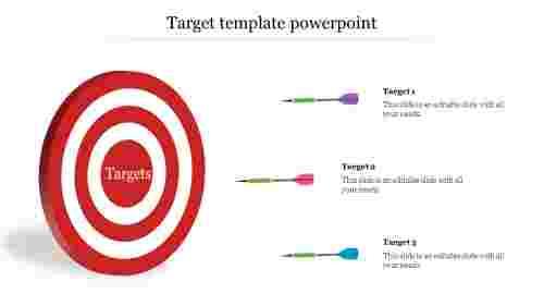 BusinessTargettemplatepowerpoint