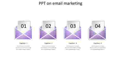 ppt on email marketing-4-purple