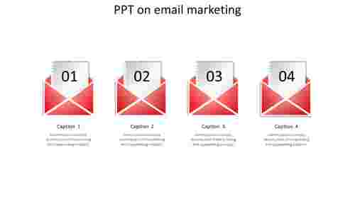 ppt on email marketing-4-red