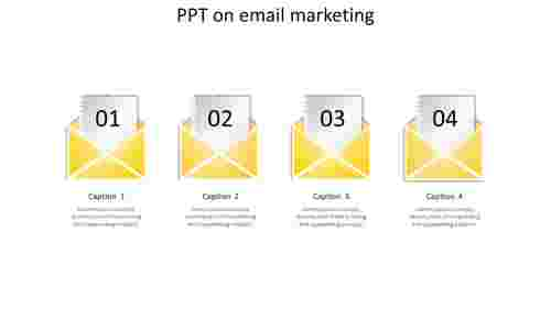 ppt on email marketing-4-yellow