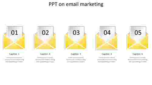ppt on email marketing-5-yellow