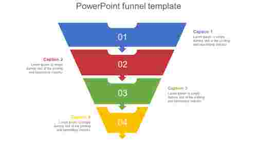 Editable powerpoint funnel template