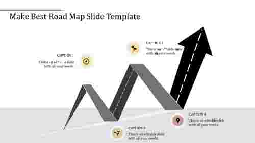 WaveModelRoadMapSlideTemplate