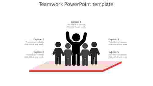 Effective teamwork powerpoint template