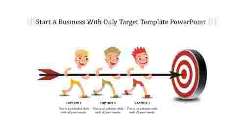 Target template powerpoint - Illustration