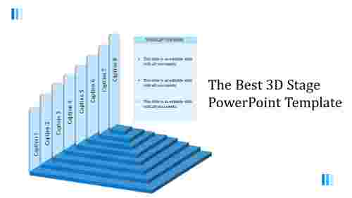 3Dstagepowerpointtemplatewitheightlevels