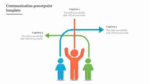 Communicationpowerpointtemplate-Directionmodel