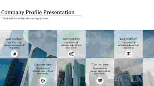 Portfolio Best Company Profile Presentation PPT