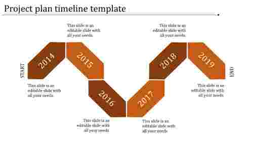 project plan timeline template-project plan timeline template-orange